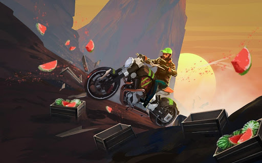 Mini Bike Stunt Trails - Racing Bike Games screenshots 6