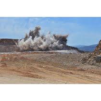 Bergsprängning Miljöplan