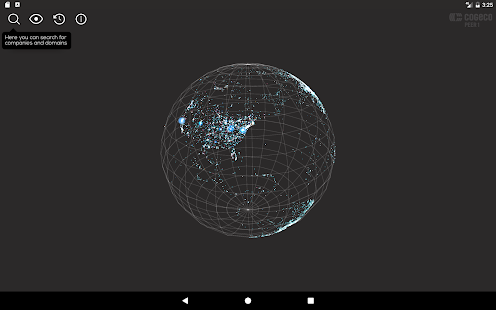 Map of the Internet by Cogeco Peer 1- screenshot thumbnail
