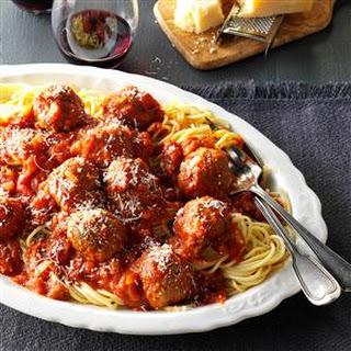 Slow Cooker Spaghetti & Meatballs Recipe