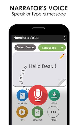 Narrator's Voice Text-to-Speech (TTS) 1.0 screenshots 1