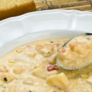 Mixed Seafood Chowder.