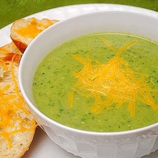 Broccoli Cheese Soup.