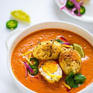 Egg Curry Tikka Masala.