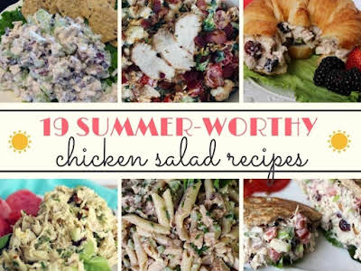 19 Summer-Worthy Chicken Salad Recipes