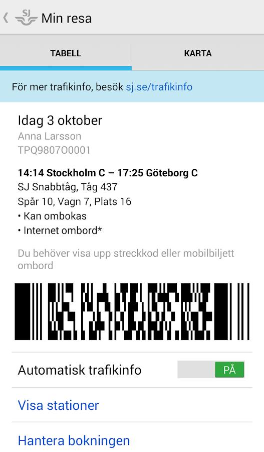 Min resa (My journey)- screenshot