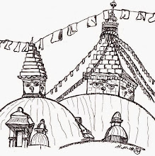 Photo: BauFachForum Ethik:  Kulturen zerstören? Der buddistische Tempel von Bodhnath im Nepal. Selbst wenn die Chinesen extrem brutal gegen die Tibetaner vorgingen, das Heiligtum nie zerstört wurde. Das mandalaförmige Podest, das für Erde steht und die Kuppel die für Wasser steht, wie auch das Dach mit Buddhas Augen, war für jegliche Kriegshandlung selbst für Chinesen Tabu.  Mehr über zum Idioten gemacht: Eine wahre Begebenheit im Jahr 2010 in Deutschland. erschrecken Sie nicht!!!! http://baufachforum.de/index.php?rub_id=1&det_id=69_3