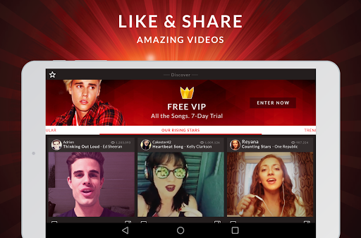 StarMaker Lite: No.1 Sing & Music app 7.7.9 Screenshots 16