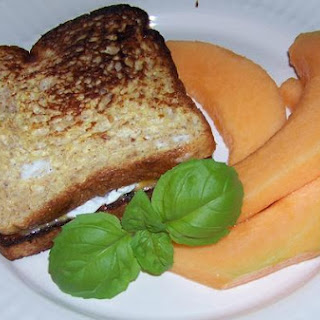 French Toast Sandwich With Poached Egg