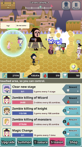 Infinity Dungeon 2 - Summoner Girl and Zombies 1.8.4 screenshots 14
