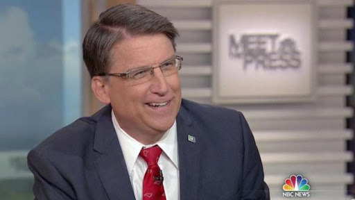 North Carolina governor contends with liberal thought-police