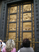 Photo: The east doors depict scenes from the Old Testament