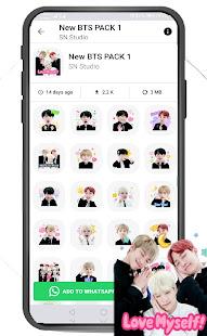 BTS Sticker for WhatsApp - WAStickerApps