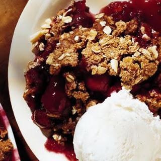 Cherry-Almond Crumble