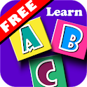 Match the letter game for kids icon
