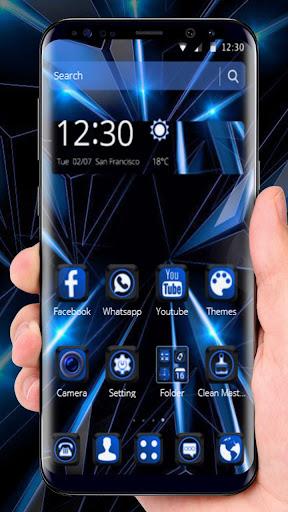 Black Blue Future Theme 1.1.6 screenshots 8