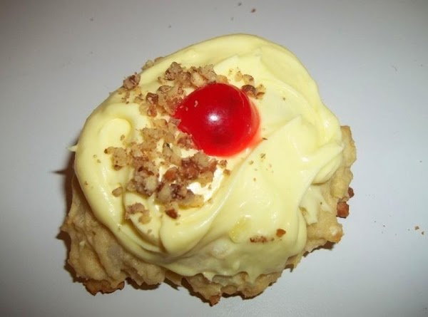 Pineapple Coconut Cookies / Cream Cheese Frosting Recipe