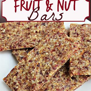 Fruit & Nut Bars.