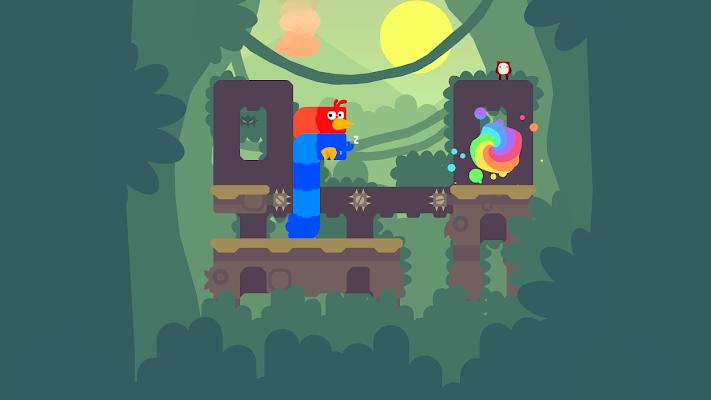 Snakebird Primer Screenshot Image