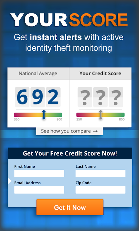 Free Credit Report Score >> Your Score Free Credit Score Credit Report Android