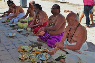 Photo: Sankalpam in progress