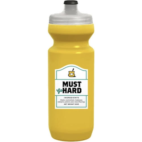 Spurcycle Must Go Hard Water Bottle