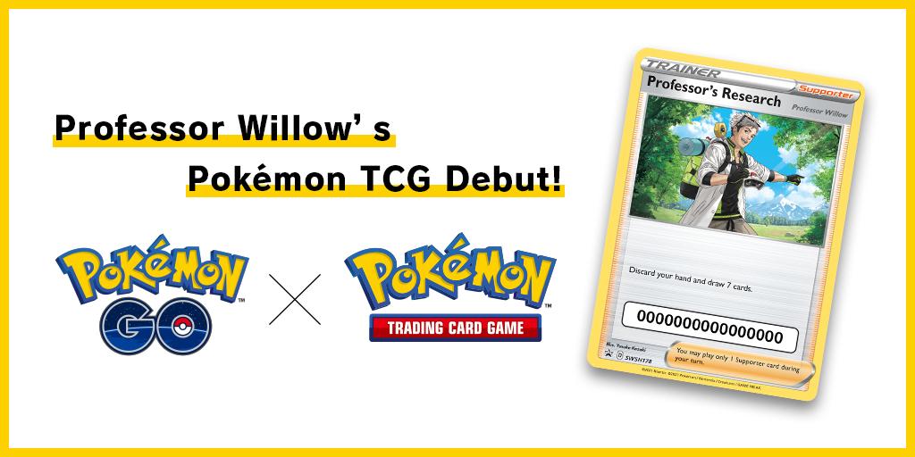 Professor Willow's Pokémon TCG Debut!