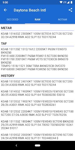 Avia Weather - METAR & TAF 2.11.6 Screenshots 3