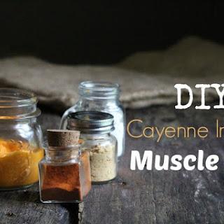 DIY Warming Rub For Sore Muscles.