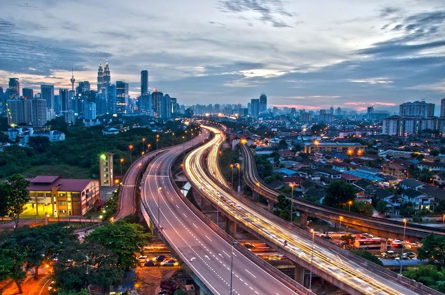 Kuala Lumpur by Narman Sazali - City,  Street & Park  City Parks ( cityscape, kuala lumpur )
