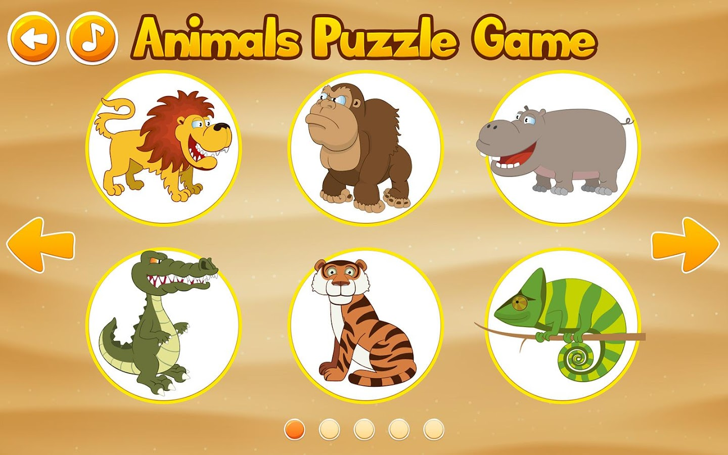 animals kids puzzle game android apps on google play