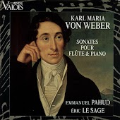 Von Weber: Sonates pour flûte & piano (Arr. for Flute and Piano)