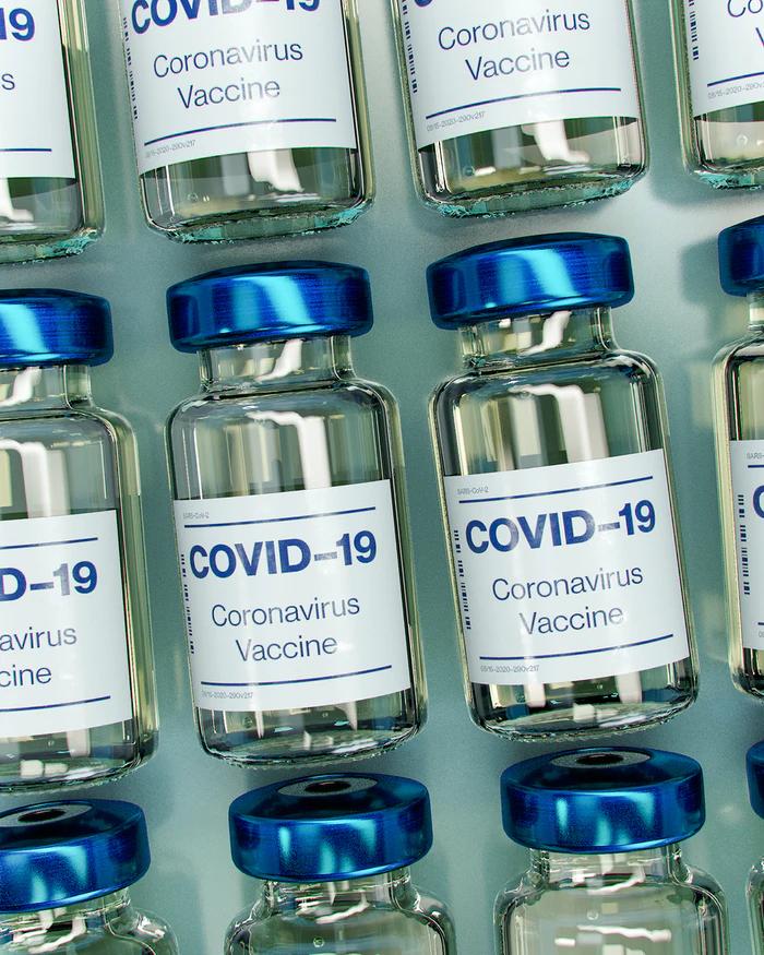 flacons de vaccin covid 19
