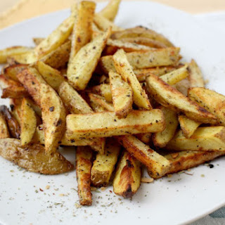 Easy Baked Parmesan-Herb French Fries