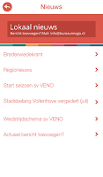 Screenshot of Vollenhove app