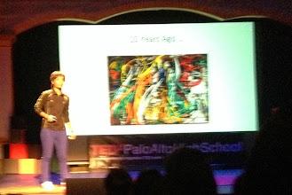 Photo: My 1st TEDx Talk @TEDxPaloAltoHighSchool 2/24/2014