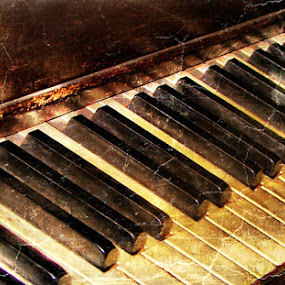 Notes by Stacey Nagy - Artistic Objects Other Objects ( piano, piano keys )