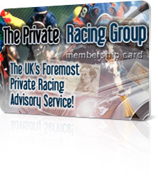 private racing group membership card image