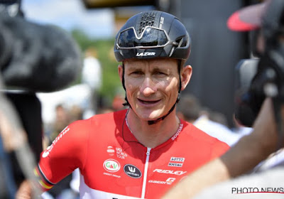 Duitse Lotto Soudal-sprinter André Greipel in zak en as