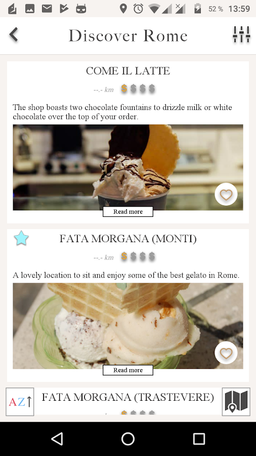Discover Rome: A modern travel and food guide- screenshot