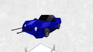 Sport Car Blue Speeder