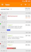 Screenshot of Timesheet - Time Tracker