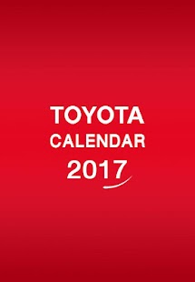 TOYOTA CALENDA 2017- screenshot thumbnail