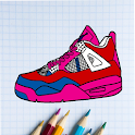 ColorPics: Sneakers Coloring Game - FREE icon