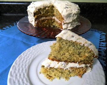 Marilyn's Moist Banana Cake & Frosting Recipe