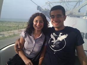 Photo: 9 Eylül 2011 - Yeni mekanımız Samsun ve olmazsa olmaz teleferik pozu. Ayrıca Ezgi, ben ve bitmek bilmeyen aksiyonlar.