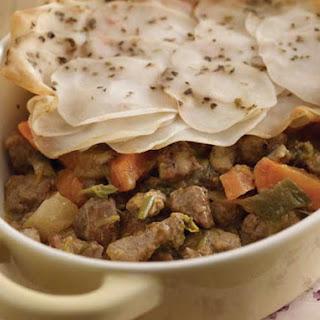 Lancashire Hot Pot with Scalloped Potatoes