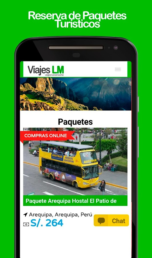 Viajes LM- screenshot