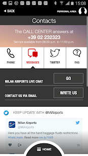 Milan Airports- screenshot thumbnail