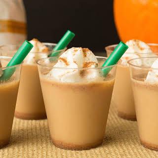 Pumpkin Spice Latte Jello Shots.